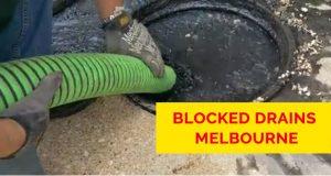 Blocked Drains Melbourne