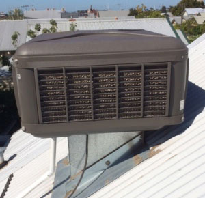 Evaporative Cooling Wallace